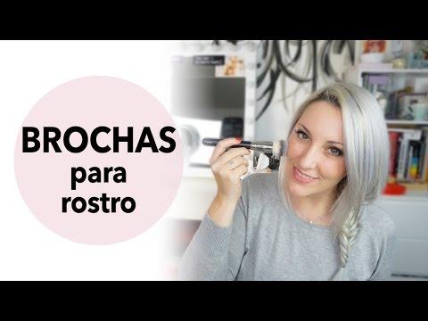 Brochas de maquillaje básicas para rostro
