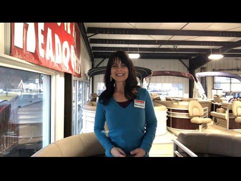 Bennington 22 SSBXP TRIPLE-TOON video