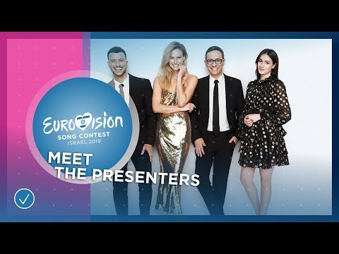 Meet the presenters of the 2019 Eurovision Song Contest