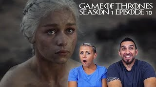 Game of Thrones Season 1 Episode 10 'Fire and Blood' Finale REACTION!!