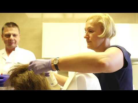Owies z leczenia włosów