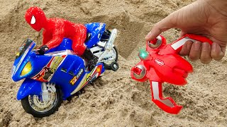 Find Of Cars With Motorbike Control - Kid Studio