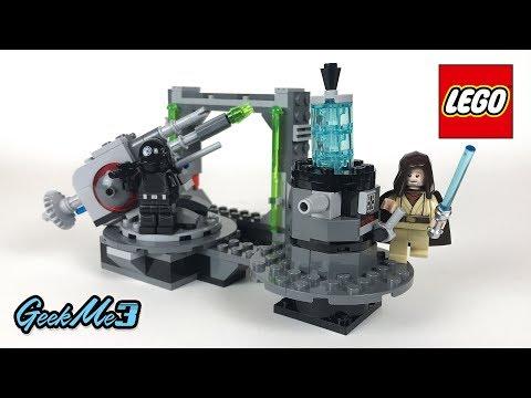Vidéo LEGO Star Wars 75246 : Le canon de l'Étoile de la Mort