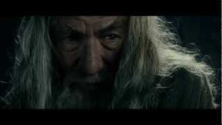LOTR The Fellowship Of The Ring   Extended Edition   Gandalf Speaks To Frodo In Moria