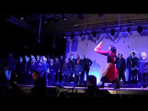 Danse autour de Quasimodo sur chanson Belle
