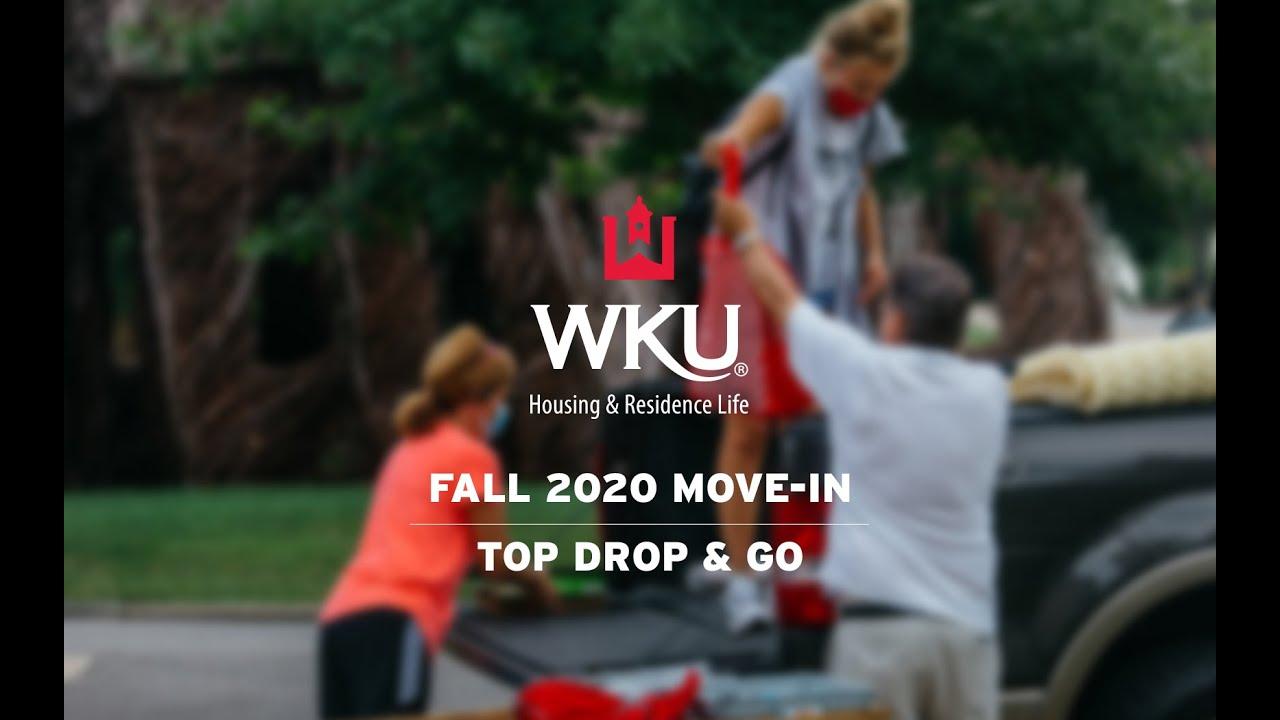 WKU Fall 2020 Move-In | Top Drop & Go Video Preview