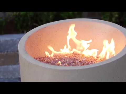 Eclipse 23- inch Propane Gas Fire Urn | UltimatePatio.com