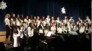 Xmas concert 7th grade miller place  on January 16 2014