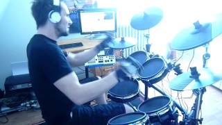 Anthrax Skeleton In The Closet Drum Cover By Fabrice Goddi