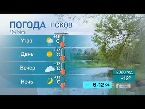 Прогноз погоды / 13.05.2021