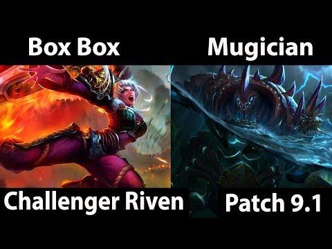 [ Box Box  ] Riven vs   Urgot [ Mugician ] Top -  twitch rivals scrims