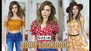 BOHO SHEIN TRY ON HAUL - Bohemian Lookbook