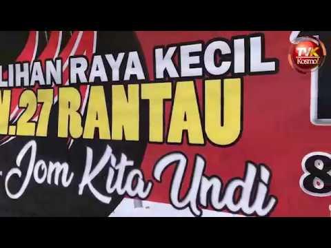Suasana hari pengundian PRK DUN Rantau, Negeri Sembilan