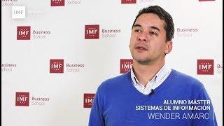 Opinión Alumno Master en Sistemas de Información de IMF: Wender Amaro