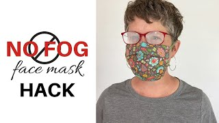 NO FOG FACE MASK | Simple Hack That Really Works