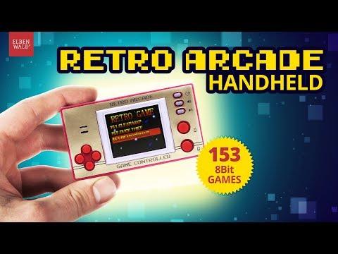 Retro Arcade Handkonsole mit 153 Games