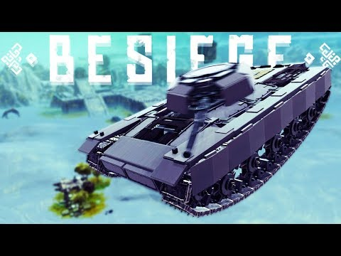 This Tank Is A Helicopter? - The Weirdest Besiege Creations - Besiege Best Creations