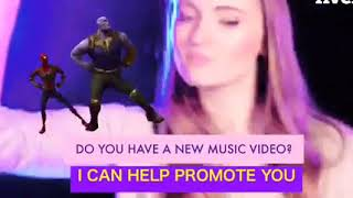 I will make reaction videos to promote your content