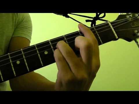 How to Play  B7 Guitar Bar Chord