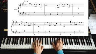 La La Land Theme - Mia & Sebastian's - Easy Piano Tutorial