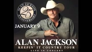 "Show Announcement: Alan Jackson's ""Keepin' It Country Tour"" Coming to USF Sun Dome on January 9!"