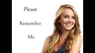 "Danielle Bradbery ""Please Remember Me""  Lyrics"