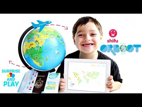 Orboot Augmented Reality Smart Globe for Kids from Shifu