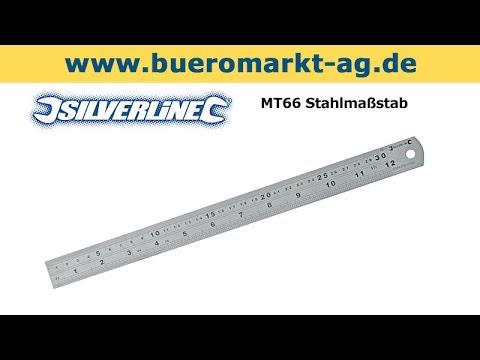 Silverline MT66 Stahlmaßstab