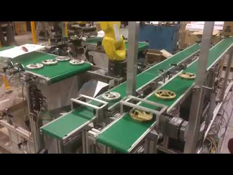 Quality Control with Integrated Robot