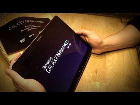 Unboxing Samsung Note Pro 12.2 [HD]