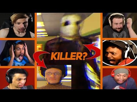 Gamers React To Scary Moments And Jumpscare!(Very Loud)- Night Shift(Stay Out Of The House Prolouge)