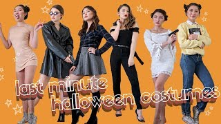 LAST MINUTE *not Lame* HALLOWEEN COSTUMES
