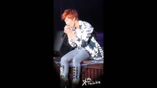 130421 Jeong Min 정민 solo 잘 지내니 (My Dear)  in Taiwan fan meeting