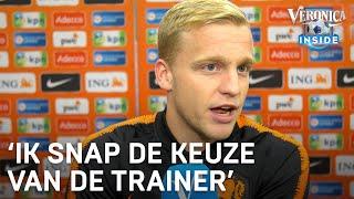 Publiekslieveling Van de Beek: 'Ik snap de keuze van de trainer' | ORANJE