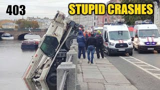 Stupid driving mistakes 403 (October 2019 English subtitles)