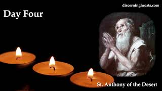 Novena to St. Anthony of the Desert - Day Four