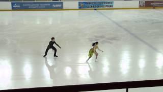 Gambar cover Морозова-Жирнов, КТ, Russian Juniors 2014
