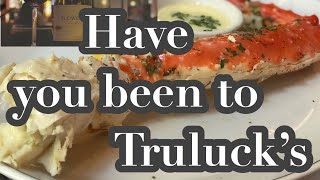 Have you been to Truluck's Chicago's Best Seafood, Steak, Crab House.