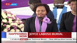 Waiguru requests Barchok to choose a lady deputy governor from Laboso family