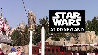 Disneyland - 9/7/18 Star Wars: Galaxy's Edge Construction view from Mark Twain Riverboat