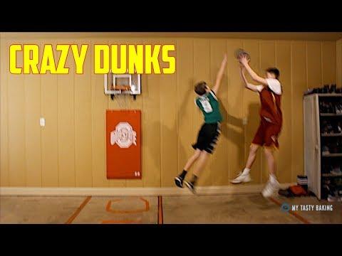 INSANE MINI BASKETBALL GAME*CRAZY DUNKS*   NEA Blitzball
