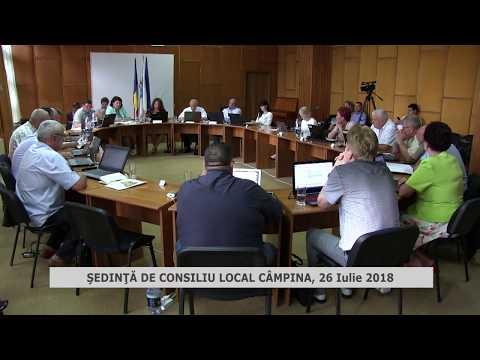 ŞEDINŢĂ CONSILIU LOCAL CÂMPINA 26.07.2018