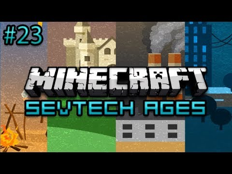 Minecraft: SevTech Ages Survival Ep. 23 - No More Fall Damage