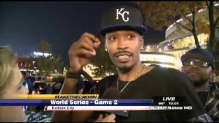 """We Ready"" rapper talks sports anthem"