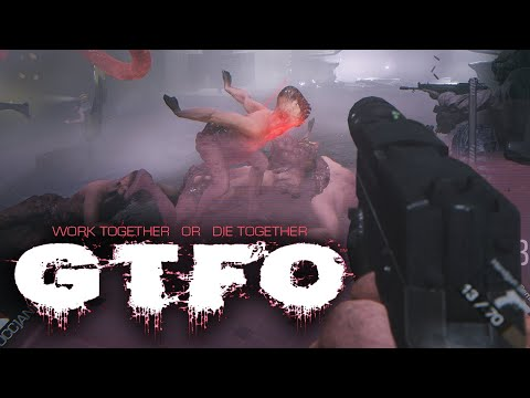 GTFO Gameplay: Work as a Team to Survive the Horror | E3 2018