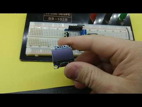 SSH1106 I2C OLED Display, running on NodeMCU - WHAT WORKED