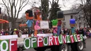 preview picture of video 'The Best of 2013 Guelph Community Santa Claus Parade'