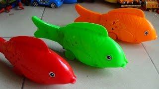Animal Toys for Children Carp Cá chép chạy phát sáng đồ chơi trẻ em Kid Studio
