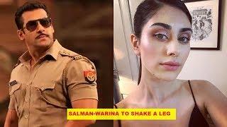 Salman Khan And ' Loveyatri' Actress Warina Hussain To Shake A Leg In 'Munna Badnaam Hua' Item Song?