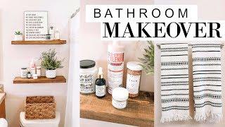 DIY Bathroom Makeover!! | Blaire Wilson